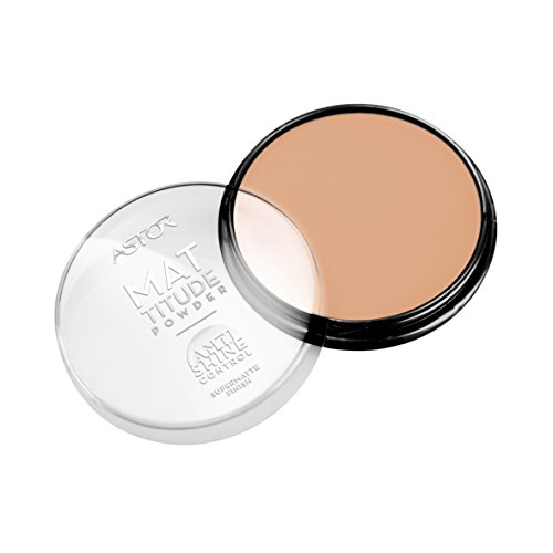 Astor Anti Shine Mattitude Powder, 005 Beige, mattierender Puder, 1er Pack (1 x 14 g)