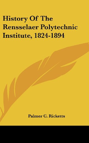 History of the Rensselaer Polytechnic Institute, 1824-1894