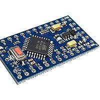 Topker Módulo de Circuito Junta Pro Mini ATMEGA328P 5V / Desarrollo 16M microcontrolador Compatible para Arduino