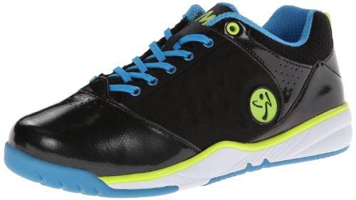 Zumba Footwear  ZUMBA ENERGY PUSH, Chaussures de fitness pour femme Multicolore - Mehrfarbig (Black/Black)