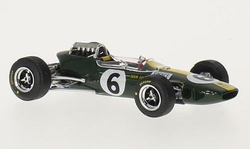Lotus 33, No.6, Formel 1, GP England, 1965, Modellauto, Fertigmodell, Brumm 1:43 - 33 Formel