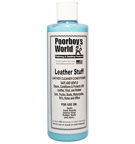 Poorboys Leather Stuff Cleaner, Conditioner 16oz (473ml)