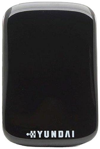 Hyundai HS2 Externe Festplatte (1TB, USB 3.0, SSD, Design Black Panther), Schwarz