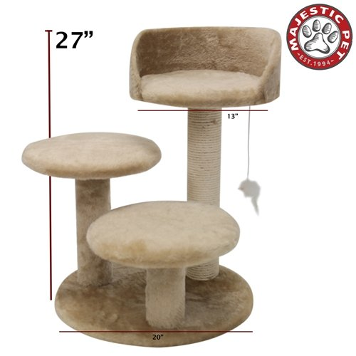 Majestic Pet Majestic 27 inch Casita Gatto Albero