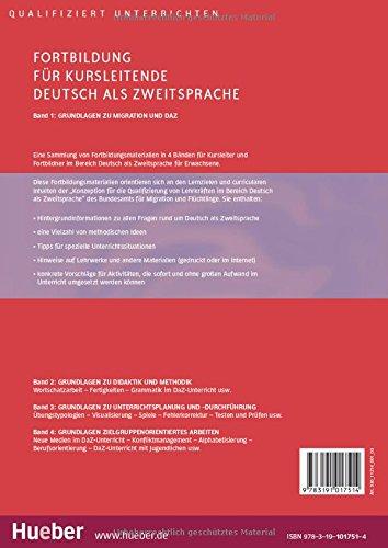 FORTBILDUNG F.KURSLEITENDE DaZ Bd.1 (Miscelaneous)