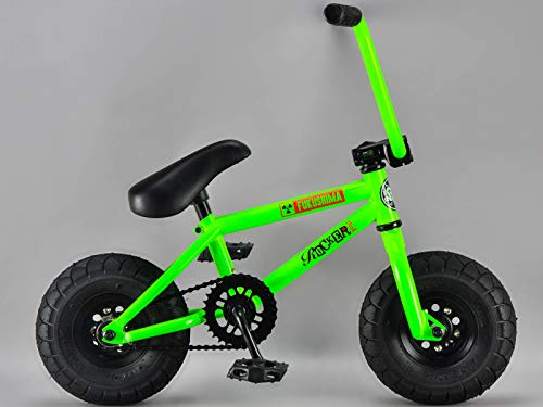 Rocker IROK Mini BMX Bike, Farbe:GREEN (glow in the dark)