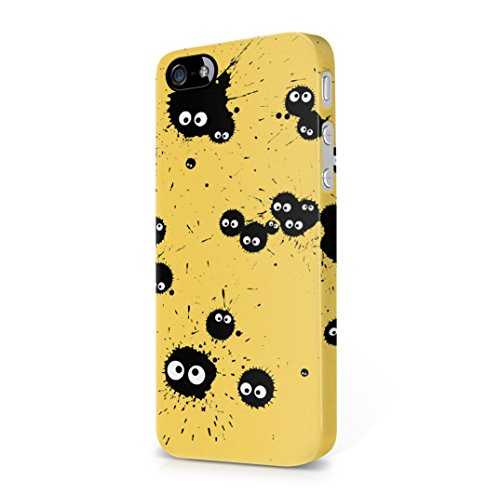 my-neighbor-totoro-ink-soot-sprites-yellow-iphone-5-iphone-5s-hard-plastic-case-cover