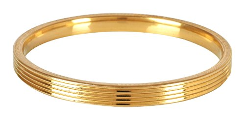 The Amritsar Store Designer Brass Kada (Lines) 6 mm thickness (2.6)