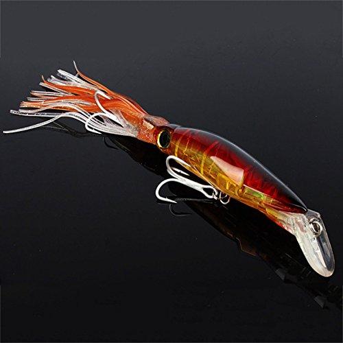 Qlan 1 # Mines de pêche Appui doux Artiche artificielle Bouchée Pêche Tackle