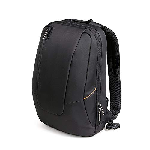 Rucksack für Studenten, erweiterbar, große Kapazität, für den Außenbereich, Doppel-Schultertasche, Schwarz - Erweiterbar Aufrecht Tasche