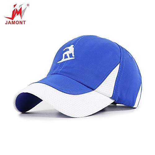 sdssup Hut Männer und Frauen Baseballmütze Anti-Smashing Cap Farbe blau einstellbar