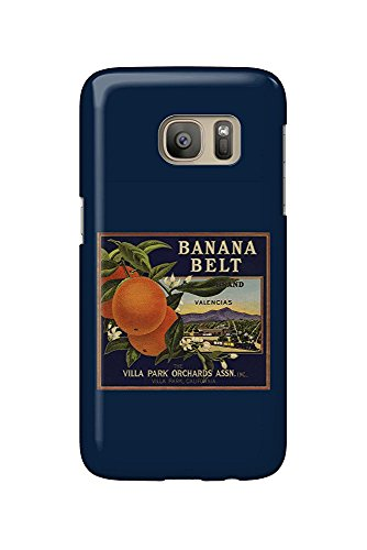 Banana Belt Brand - Villa Park, California - Citrus Crate Label (Galaxy S7 Cell Phone Case, Slim Barely There)