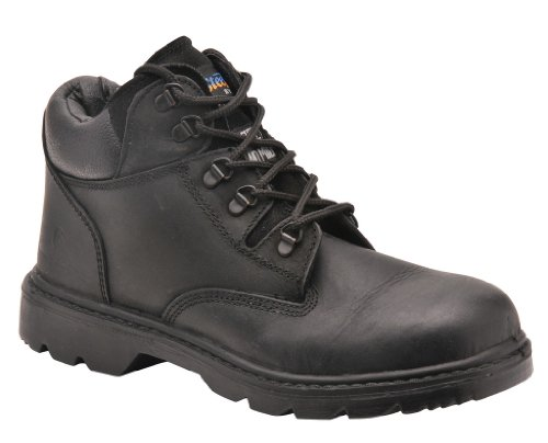 Portwest fW50–Cuir Zulu S1P Boot, FW50BKR38 noir