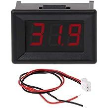coralstore voltímetro DC 2.4 V-30 V 2 Wires Mini 0.36