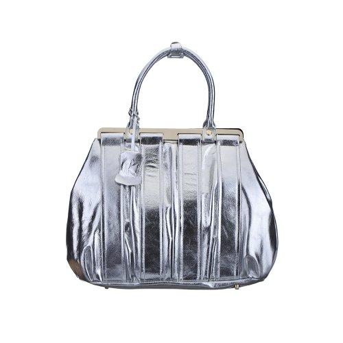 nancy-kyoto-lara-silver-leather-bag