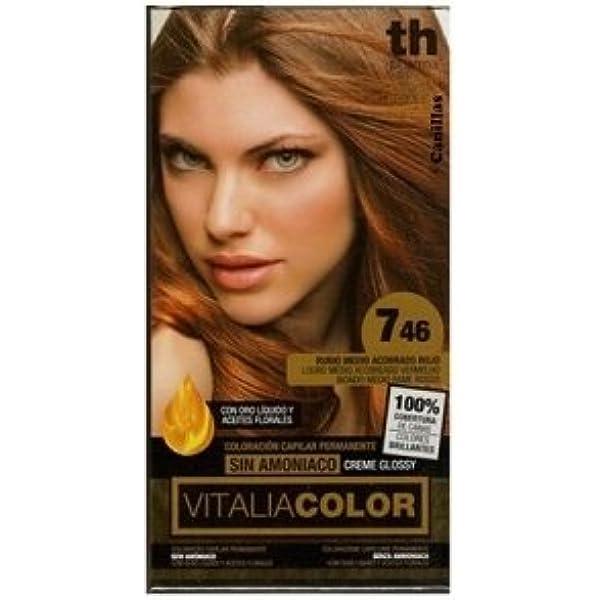 Th Pharma Th Vitalia Color Tinte Nº 746 Rubio Medio Acobrado ...