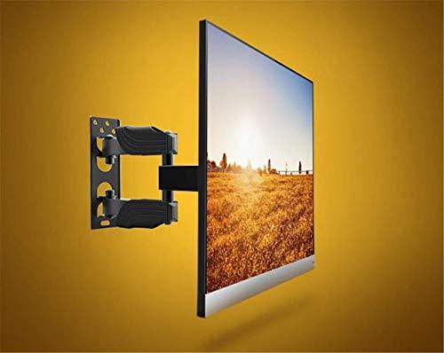 Bracket Haushalts-Wandhalter, LCD-Anzeigen-Gestell-universelle teleskopische drehende Musik als Hirse-TV-Stand 32/40/48/49/50 Zoll, Wand-hängenden Haltewinkel,b
