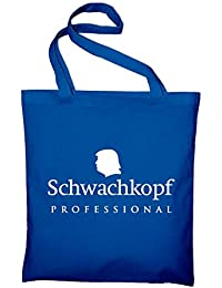 Schwachkopf Fun make america great again Jute Jutebeutel, Beutel, Stoffbeutel, Baumwolltasche