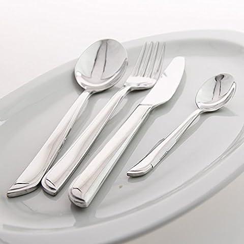 yifom in acciaio inox tavola forchetta e cucchiaio set di