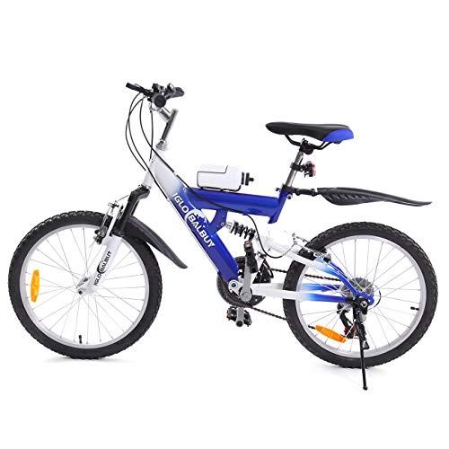 MuGuang Bicicleta de Montaña 20 Pulgadas Bicicleta Infantil 6