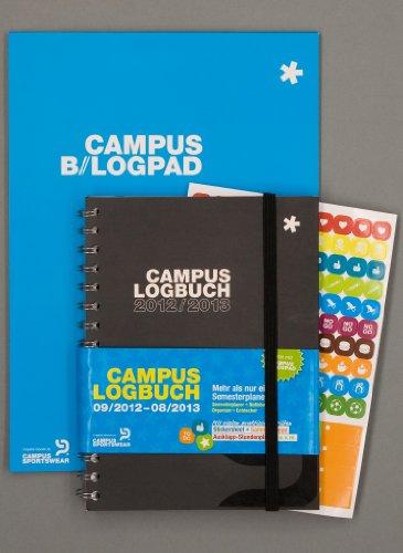 CampusLogbuch 2012/2013 & Gratis Blogpad - Der Semesterplaner fürs WS 2012/2013 & SS 2013