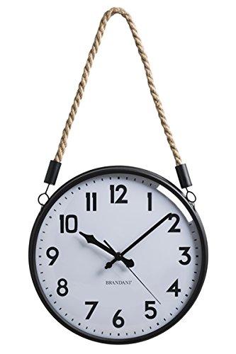Brandani Corda Horloge Sable/Noir en métal/Verre, Multicolore, Taille Unique