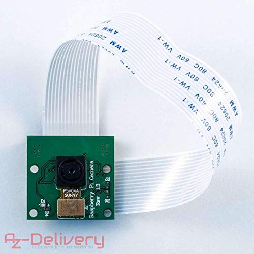 AZDelivery camera per Raspberry Pi / Modulo telecamera con filtro IR / Videocam per Raspberry Pi 3 e tutti i tipi Raspberry Pi