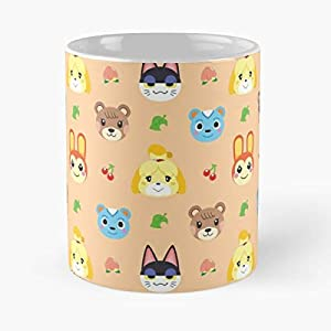 Animal Crossing Acnl Mug Coffee Mugs For Gifts Cup Women Tumbler Cups – Best 11 Ounce Ceramic Coffee Mug Gift