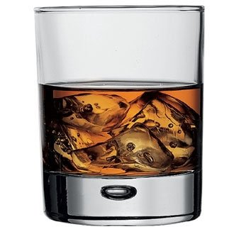 gnp Centra, Double Old Fashioned Tumbler – 10,75 UK oz 305 ml. 9,4 cm hoch. Box Menge 6