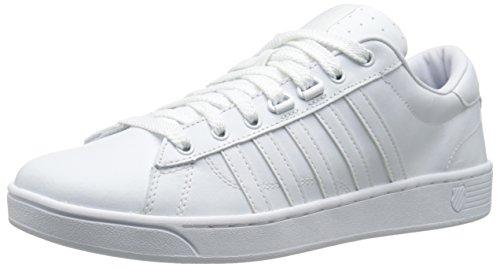 K-Swiss Mens Hoke Fashion Sneaker White/white