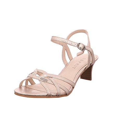 ESPRIT Damen Sandalette Birkin Gold Synthetik 40