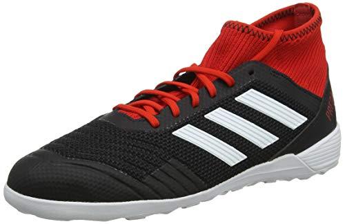 adidas Herren Predator Tango 18.3 In Fußballschuhe, Schwarz (Cblack/Ftwwht/Red Cblack/Ftwwht/Red), 42 2/3 EU