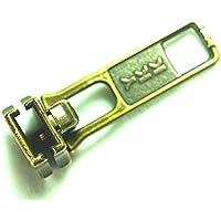 Cerniera in metallo YKK # 5In Ottone Anticato sostituzione/riparazione parti (5Sliders)