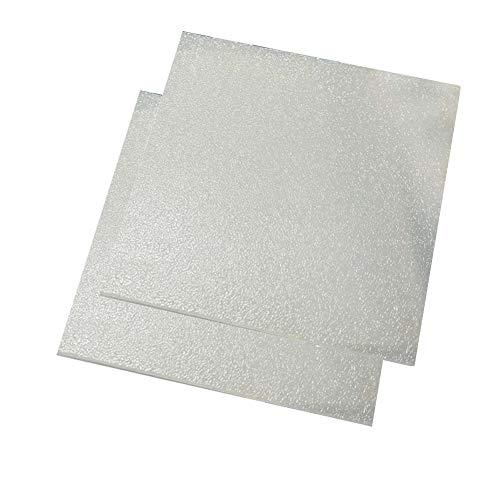 SOFIALXC Acryl-kunststoffplatte Doppelseitige, Matte Kunststoffplatte Quadratische Uv-Schutz Pmma Kunststoffrohstoffe- 100x300mm Thick 1.5mm