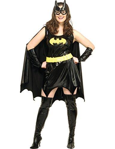 Fancy Dress Adult Costume - Batgirl - Plus Size - 16 / 22 by Rubies