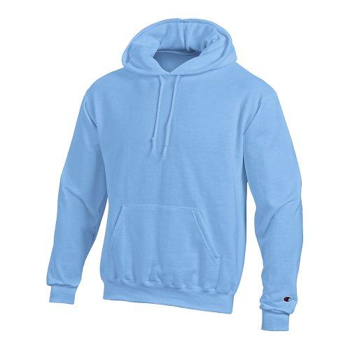 Champion Men's Double Dry Eco Pullover Hood Blu - blu