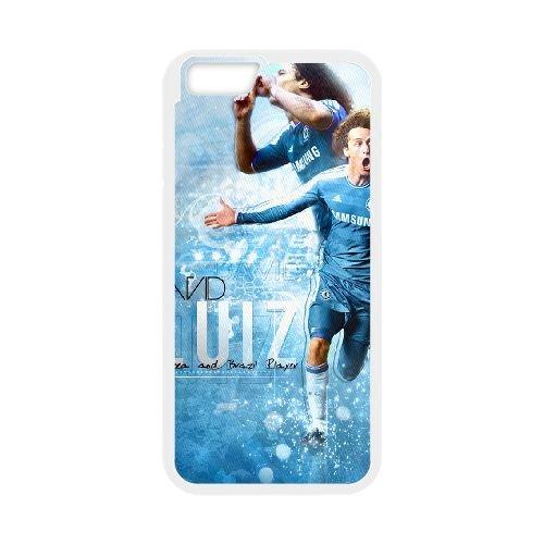 David Luiz coque iPhone 6 4.7 Inch Housse Blanc téléphone portable couverture de cas coque EBDXJKNBO13140