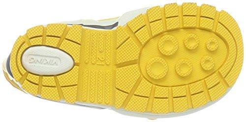 Viking Jolly Winter, Bottes et bottines à doublure chaude mixte enfant Jaune - Gelb (Yellow 13)