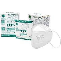 Mascherine FFP2 10 PEZZI con marchio CE protettive, Maschera di protezione antiparticolato FFP2 10 pz mascherine FFP2