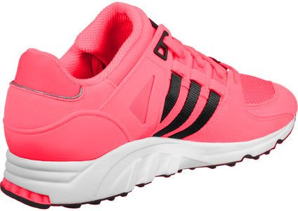 adidas EQT Support RF, Sneakers Basses Homme Rose (Turbo/core Black/ftwr White)