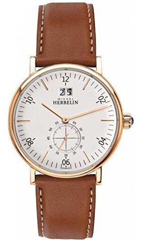 Michel Herbelin Reloj cronógrafo de inspiración para hombre 18247/PR11GO