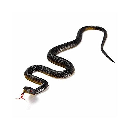 Serpente finto gomma vipera scherzo carnevale halloween spavento divertente