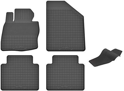 KO-RUBBERMAT Gummimatten mit Tunnel geeignet zur Honda Civic VIII (Bj. 2006-2012) ideal angepasst 5-Teile EIN Set (Honda 2006 Teile Civic)