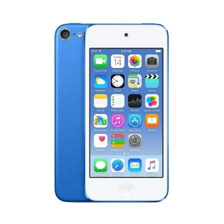 "Apple iPod touch - Reproductor MP4 de 4"" (128 GB) azul"