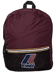 K-Way Le Vrais 3.0 Francois Burgundy Packable Backpack - One Size