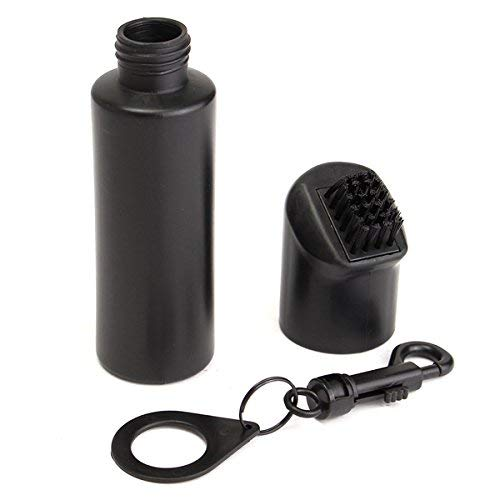 Kerlana Golf Club Scrub Wet Cleaning Brush Washer Refillable Water Bottle W Bag Clip (Color : -, Size : -)
