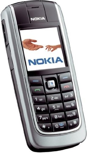 Nokia 6021 grau Handy (Farbdisplay, GPRS, EDGE, Infrarot-Port)