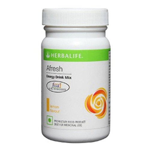 herbalife Afresh Energy Drink Mix - Lemon - 50 gms  available at amazon for Rs.527