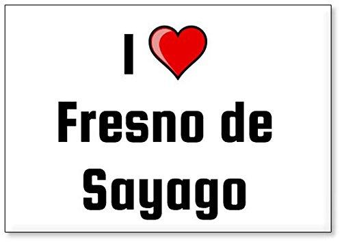 Mundus Souvenirs - Amo Fresno de Sayago, Imán para Nevera (diseño 3)