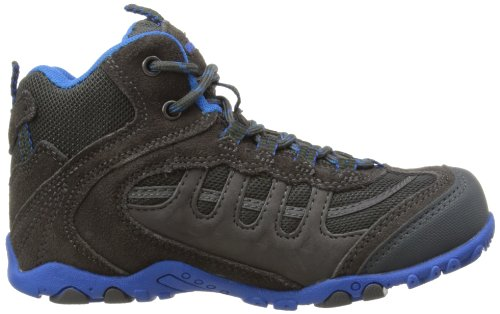 Hi-tec Windermere, Jungen Chukka Boots Blau (Charcoal/Cobalt Blue)
